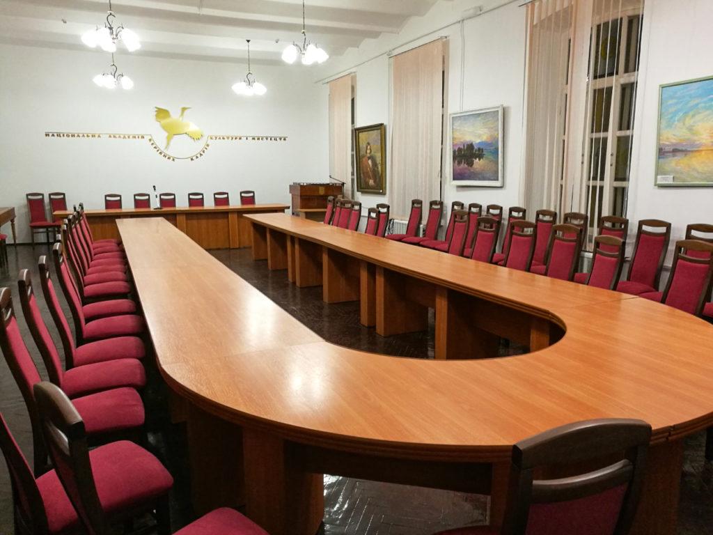 70 стільців Оріон у Національну академію керівних кадрів культури і мистецтв України