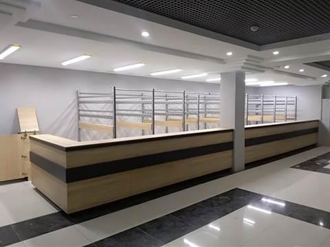 """Гардеробна система на 600 відвідувачів для МЦ """"Романтика"""""""