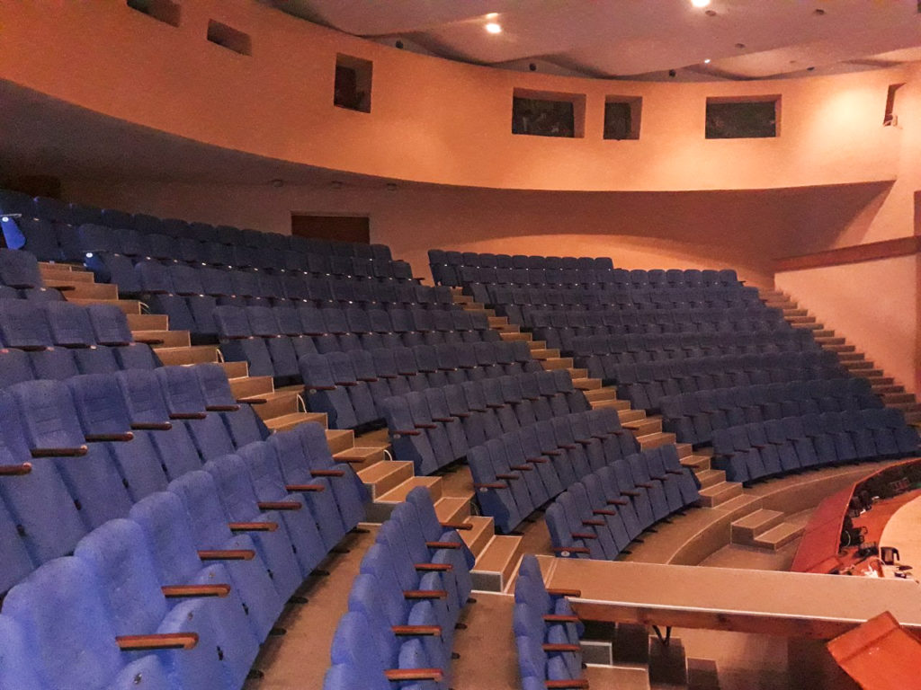 Оновлення актового залу в Дружківському ЦДЮТ