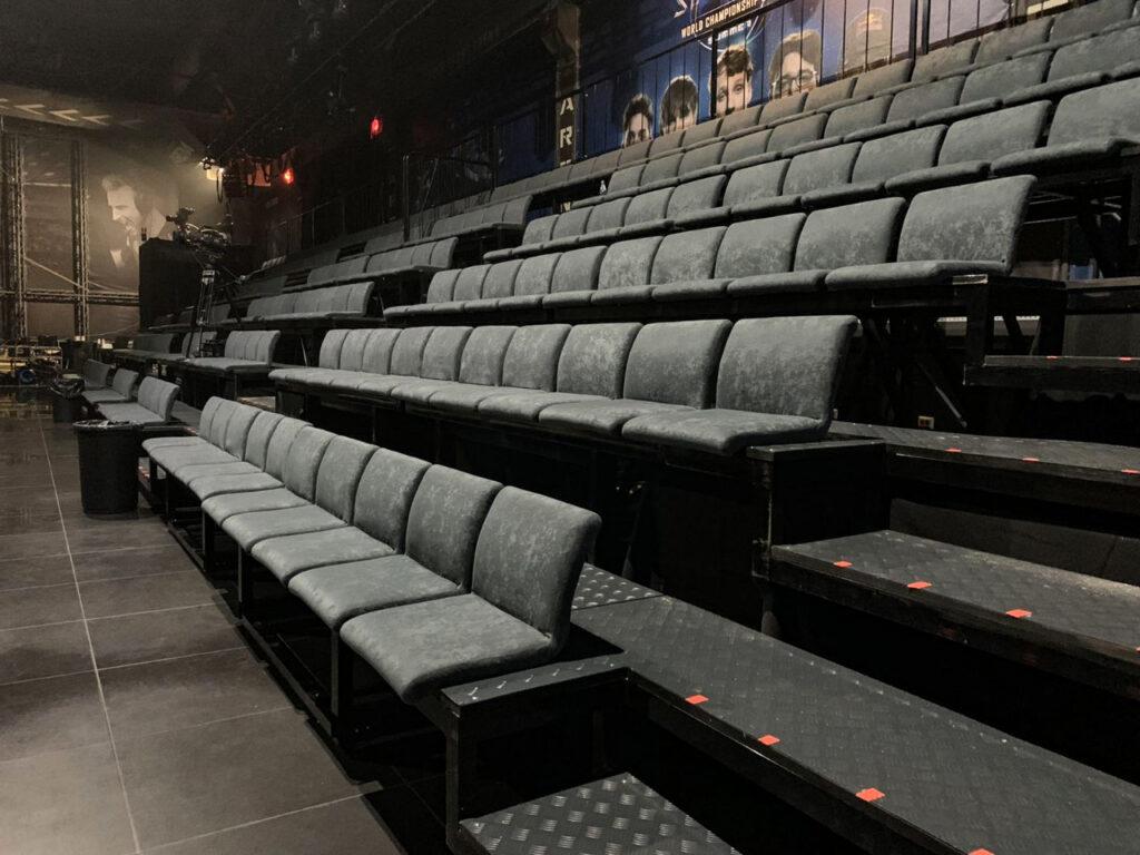 Новые сиденья для «Киев Киберспорт Арена»