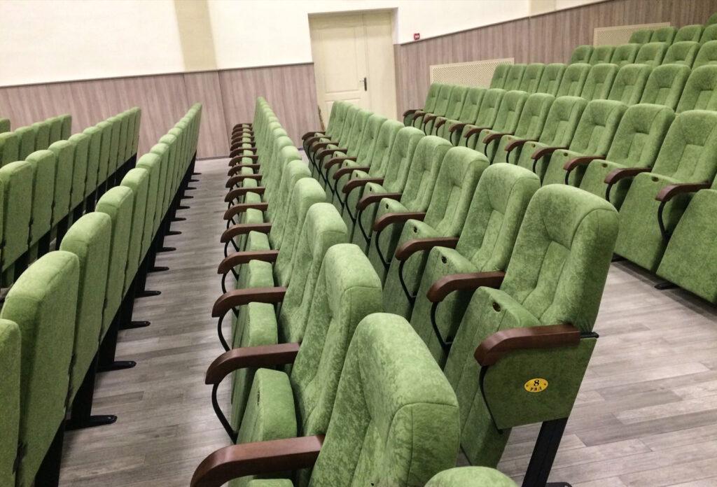 Реконструкция актового зала в общеобразовательной школе, с. Петропавловская Борщаговка